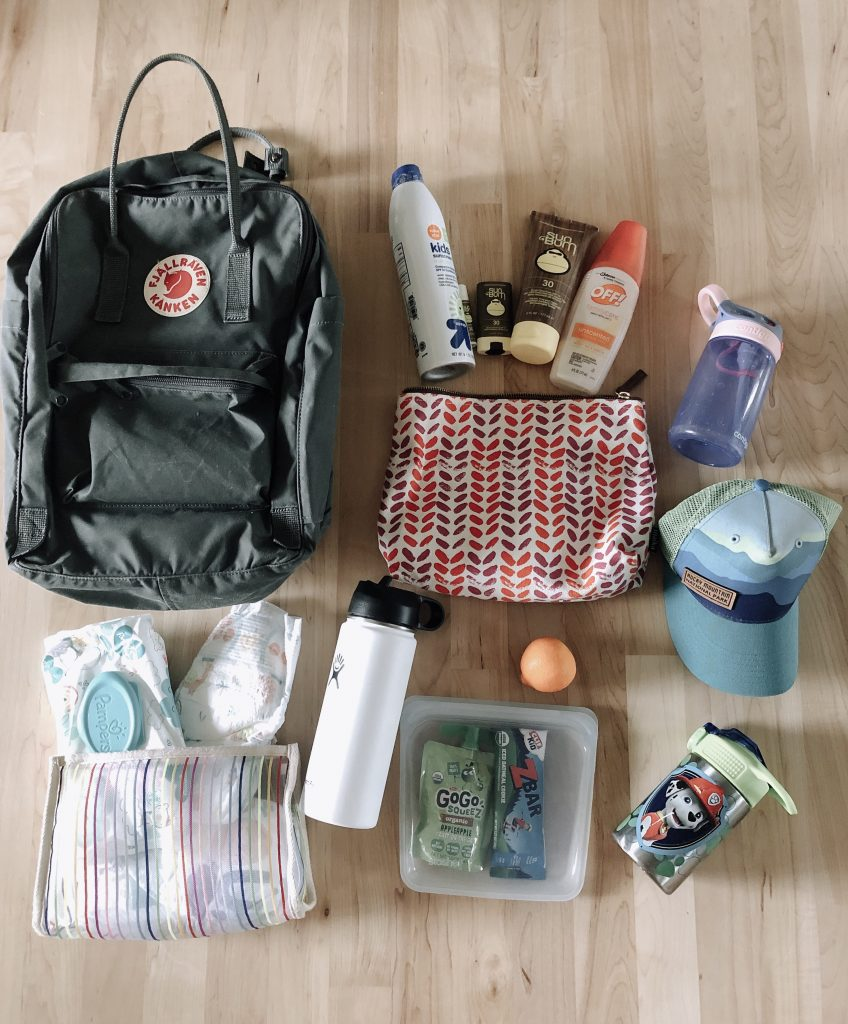 All of our essentials for a day out with kids