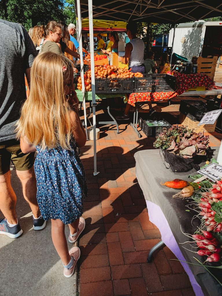 A Summer Saturday in Madison, Wisconsin at the Farmer's Market and Camp Beef Butter BBQ